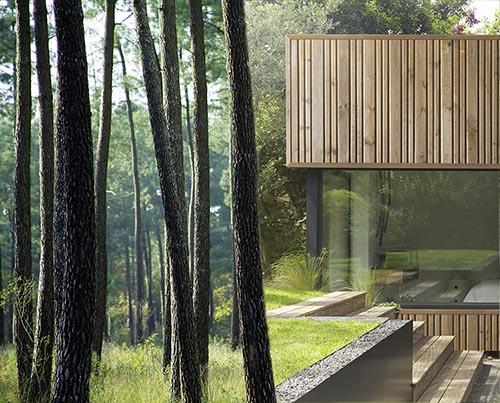 Maison bois par Gascogne Bois