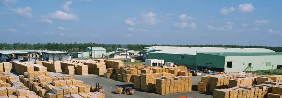 Gascogne Bois, site de production